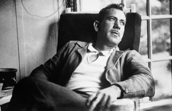 Realistic words from John Steinbeck.